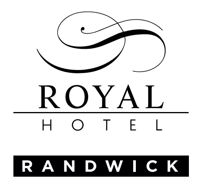 Royal Hotel Logo Black small